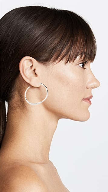 Gorjana 弧形大圆耳环