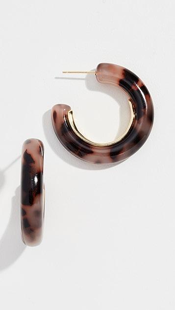Gorjana Irina 个性圈式耳环