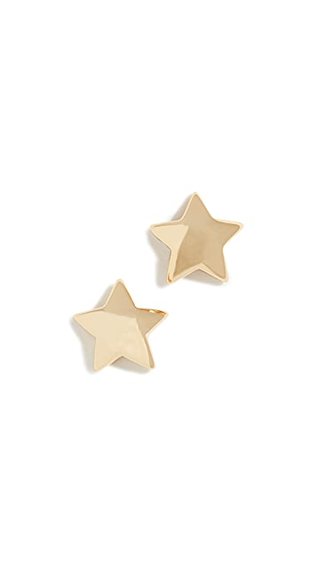 Gorjana 星星坠饰耳钉