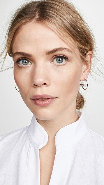 Gorjana Taner 小号圈式耳环