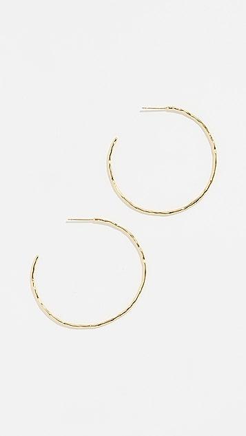 Gorjana Taner 圈式耳环