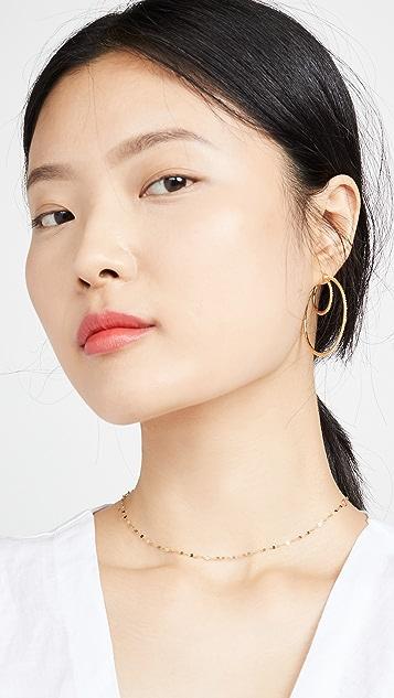 Gorjana Bali 双层圈式耳环