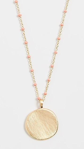 Gorjana Capri 硬币项链