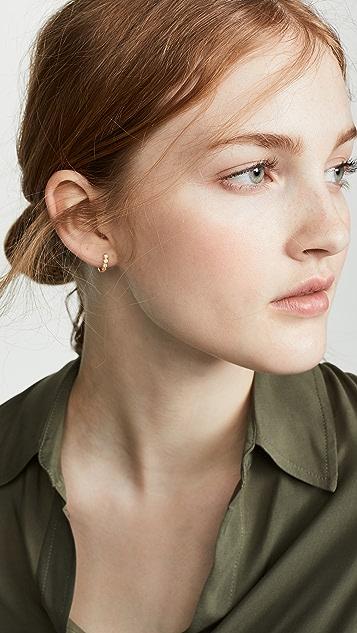 Gorjana Madison 贴耳耳环