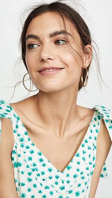 Gorjana Chloe 圈式耳环