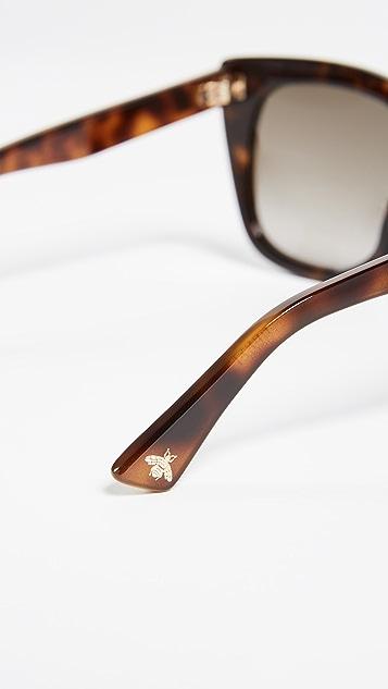 Gucci 方形太阳镜