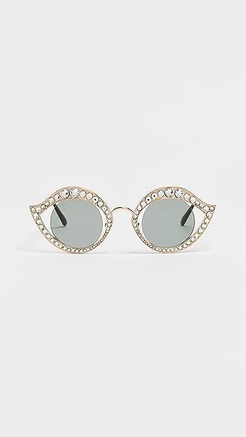 Gucci 水晶太阳镜