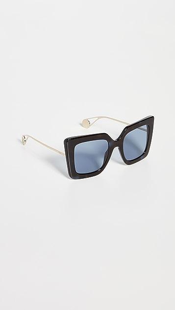 Gucci Evolution 超大方框太阳镜