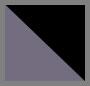 双色黑色水晶/灰色