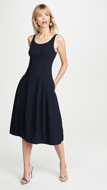 HALSTON 无袖连衣裙