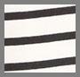 黑色/白色条纹