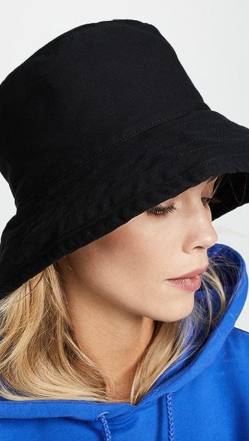 Hat Attack 水洗棉质桶形帽子
