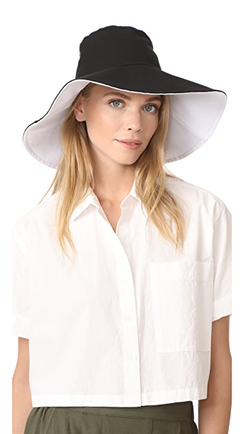 Hat Attack 帆布双面佩戴遮阳帽