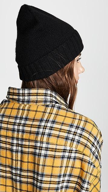 Hat Attack 开司米羊绒休闲翻边帽