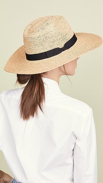 Hat Attack 混合草编欧陆风帽子