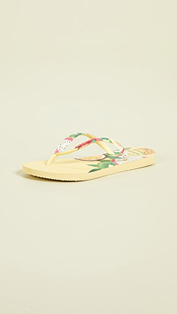 Havaianas Slim Sensation 夹趾凉鞋