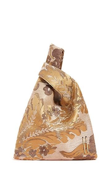 Hayward Venetian 真丝提花迷你购物包