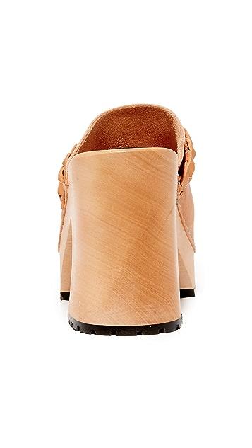 Swedish Hasbeens Laila 木底鞋