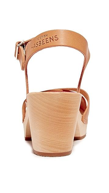 Swedish Hasbeens Mirja 凉鞋
