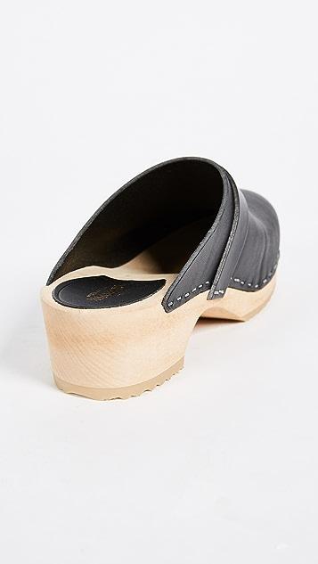Swedish Hasbeens Swedish Husband 木底鞋