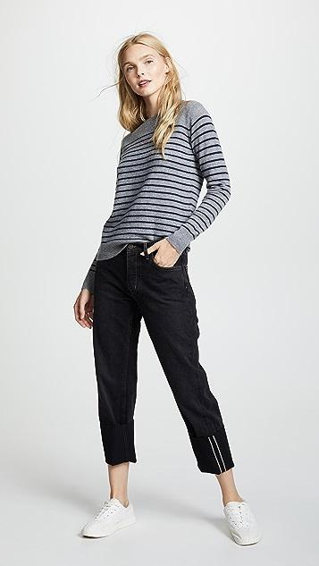 M.i.h Jeans The Pheobe 翻边牛仔裤