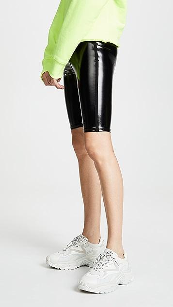 Heroine Sport Downtown 漆皮机车风短裤