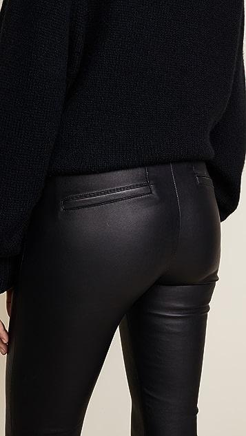 Helmut Lang 弹性皮裤