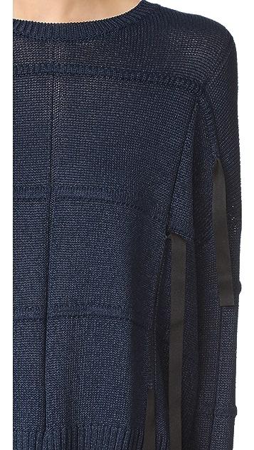 Helmut Lang 纹理元素毛衣