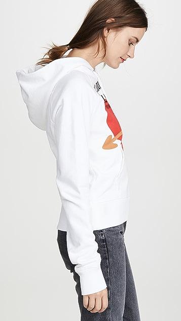Helmut Lang 标准修身连帽上衣