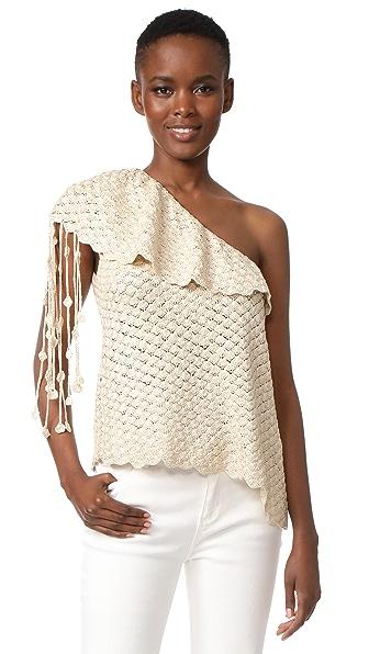 Hellessy Capri 针织单肩上衣