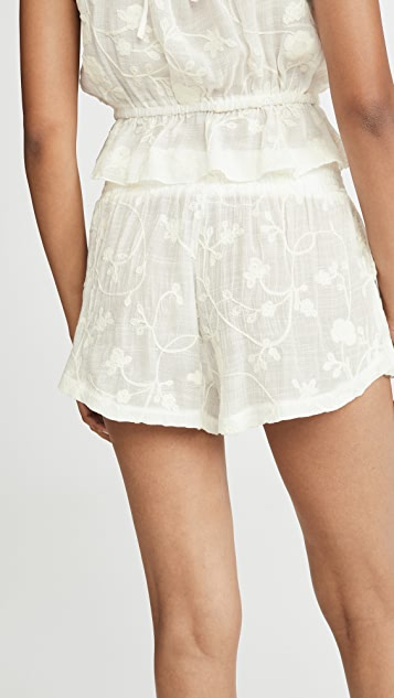 Honeydew Intimates Siesta 鸡心领刺绣短裤