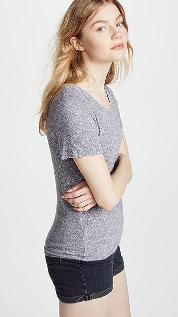 MONROW Granite 平针织圆领 T 恤