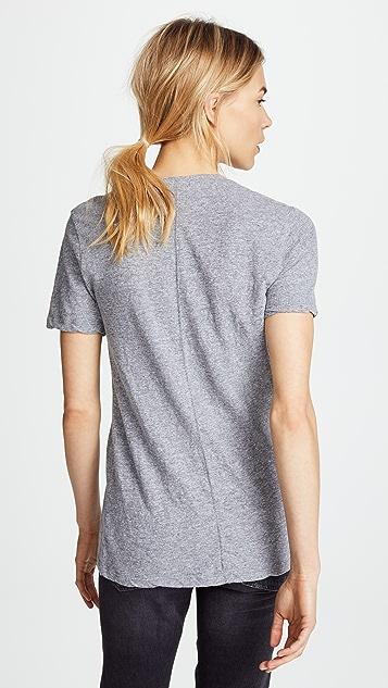 MONROW 超大号 V 领 T 恤