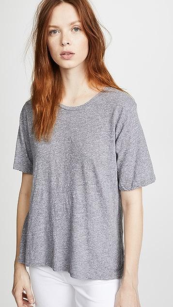 MONROW 复古平针织基本款超大号 T 恤