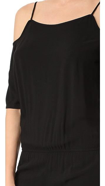 MONROW 肩部镂空连身衣
