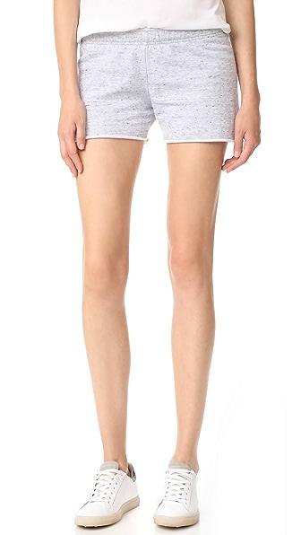 MONROW 烂花短裤