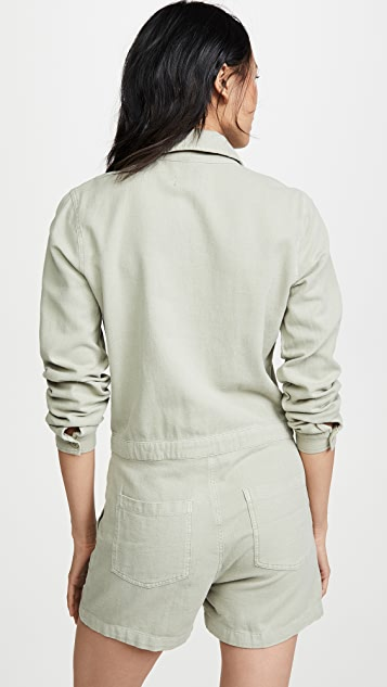 MONROW 长袖短款连身衣