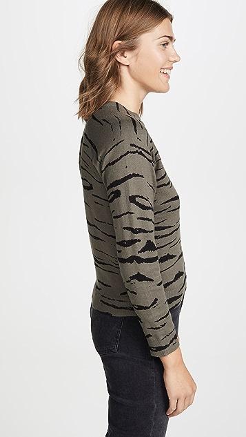 MONROW 复古连肩运动衫