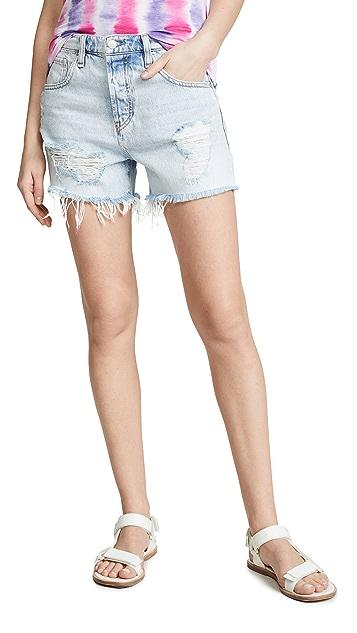 Hudson Jade 男孩风短裤