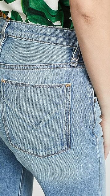 Hudson Sloane Extreme 宽松九分牛仔裤