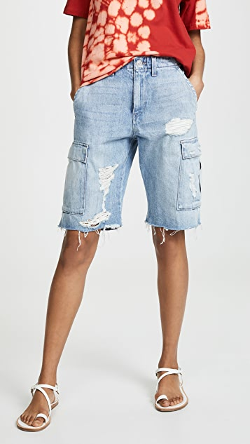 Hudson Jane 休闲工装短裤