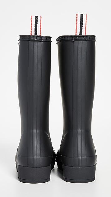 Hunter 靴子 Original Play 高筒靴