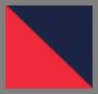 红色/海军蓝组合