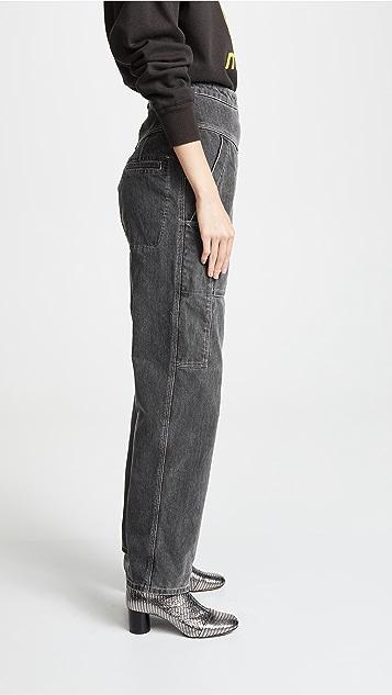 Isabel Marant Etoile Iuke 牛仔裤