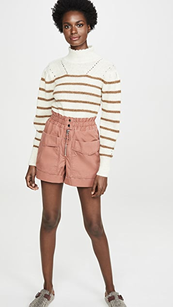 Isabel Marant Etoile Lizy 工装短裤
