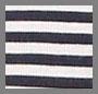 纯正海军蓝 / 白色条纹