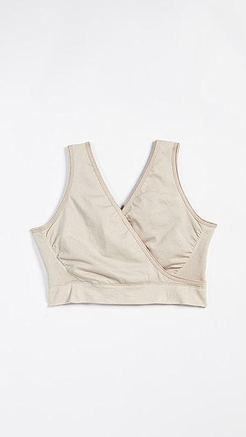 Ingrid & Isabel 无缝交叠孕妇装&哺乳文胸