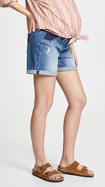 Ingrid & Isabel Mia 弹性镶嵌男孩风格短裤