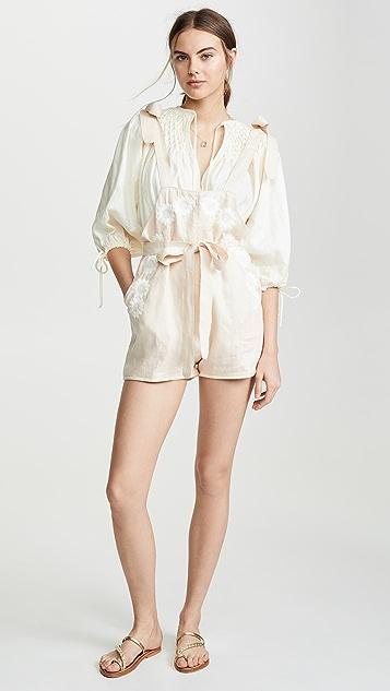 Innika Choo Berry Bard 短款连身衣