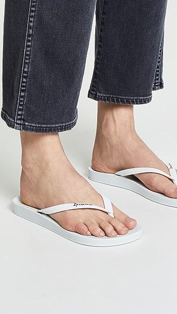 Ipanema Ana Tan 夹趾凉鞋